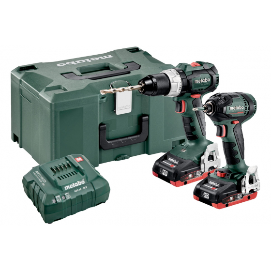 Metabo Combo Set 2.1.11 18V 2x3.5Ah Brushless Li-HD BS 18 LT BL + SSD 18 LTX 200 BL (685123000)