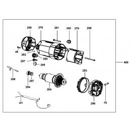 Dewalt N158402 Kit Moteur 230V Pour Scie D27107, D27107XPS
