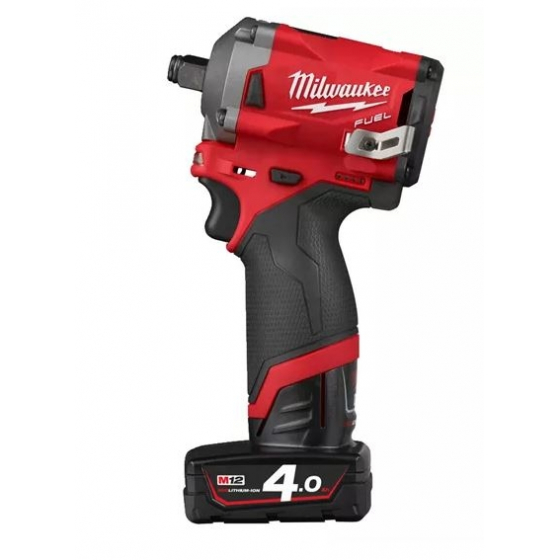 "Milwaukee M12 FIWF12-422X Boulonneuse à choc 1/2"" 12V FUEL 1x4.0Ah et 1x2.0Ah + HD-BOX (4933464616)"