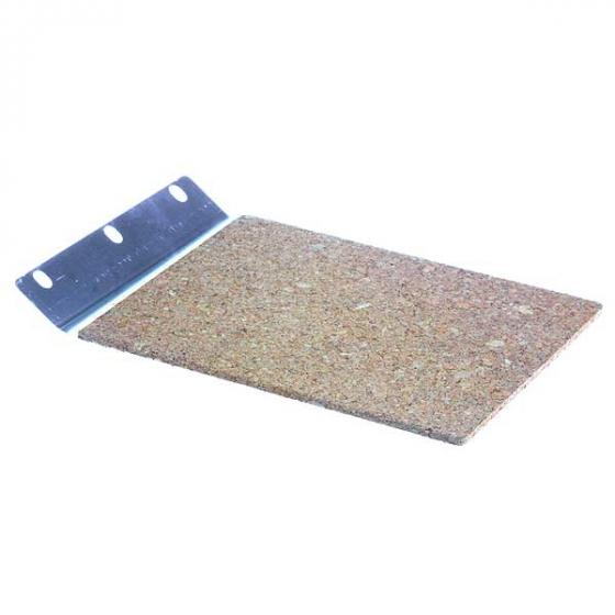 Makita 150980-1 Patins acier avec patin liège intégré pour ponceuses à bande