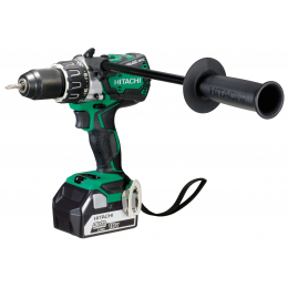 Hitachi DS18DBL2 5A Perceuse, Visseuses Brushless 18V 2x5.0Ah Li-ion