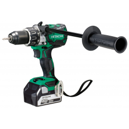Hitachi DV18DBL2 5A Perceuse Percussion, Visseuses Brushless 18V 2x5.0Ah Li-ion