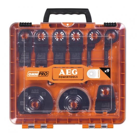 AEG Coffret de 11 accessoires pour Multi-tool (4932430314)