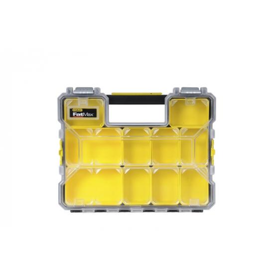 Stanley 1-97-517 Organiseur Étanche 64mm - 10 Compartiments Amovibles Fatmax