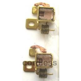 Bosch 2607034902 Jeu de Charbons & Porte-Balais GWS 14,4V
