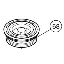Makita 415690-0 Bouchon de Carte de Manivelle