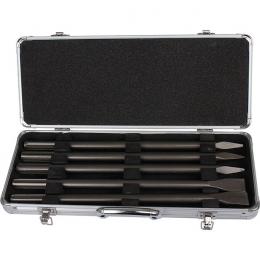 Makita D-40618 Coffret SDS-MAX de 3 Burins Pointes et de 2 Burins plat 400mm