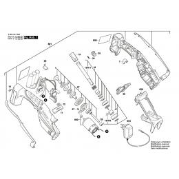 Bosch 2609005784 Moteur à Courant Continu 10.8V KEO10,8LI