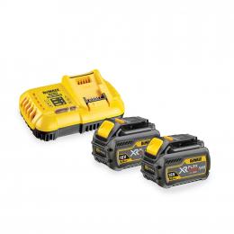 Dewalt DCB118T2 Pack de 2 Batteries XR Flexvolt 54V 6.0Ah