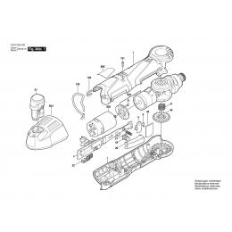 Bosch 2609199131 Moteur à Courant Continu 10.8V GWI10.8-LI