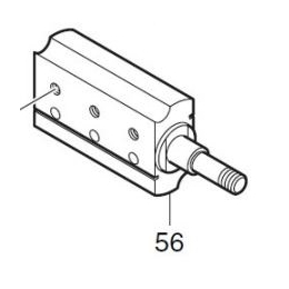 Makita 158156-4 Bloc de Coupe Rabot KP0810