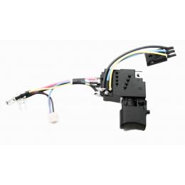 Makita 650724-4 Interrupteur TG573FSB-3 Perceuse BDF448, BDF458, BHP448