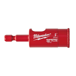 "Milwaukee Scie Cloche Diamants ø20mm (3/4"") 49560515"