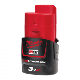 Batterie M12B3 Milwaukee 12V 3.0Ah Red Lithium-Ion