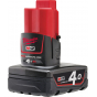 Batterie M12B4 Milwaukee 12V 4.0Ah Red Lithium-Ion