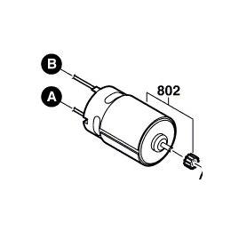 Bosch 2609199121 Moteur à Courant Continu 14.4V PSR14.4