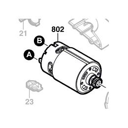 Bosch 2609002709 Moteur à Courant Continu 14.4V PSR14.4LI