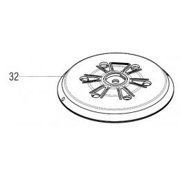 Metabo 339160420 Plateau de ponçage ø150mm SXE315, SXE3150