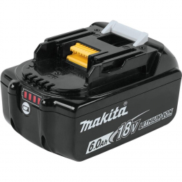 Makita BL1860B Batterie Makstar Li-ion 18V 6.0Ah avec témoin de charge 197422-4