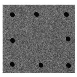 Flex 259942 Plateau de Ponçage Velcro 105x115mm Ponceuse MS714