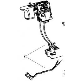 AEG 270017417 Interrupteur Perceuse, Visseuse BS14CLI