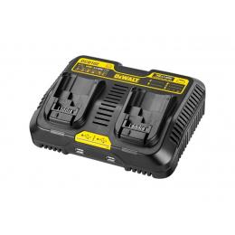 Dewalt DCB102 Chargeur de batteries Double Dual Port XR 10.8V/14.4V/18V Li-ion