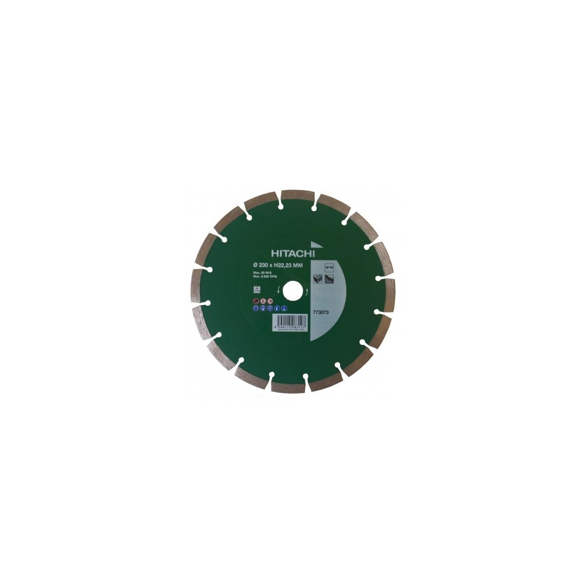 HITACHI 773073 Disque pour meuleuse /Ø230mm 22,23mm
