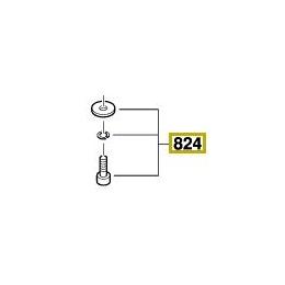 Bosch 2610396959 Jeu de Vis & Rondelles Ponceuse Orbitale 7440, 7460, 7470