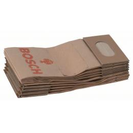 Bosch 2605411068 Sac à Poussière papier (x10) GEX, PEX