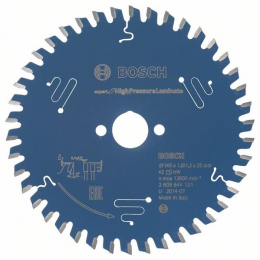 Bosch 2608644131 Lame ø140x20x1,8mm (42Dts) Scie Circulaire Expert for mélaminé HPL