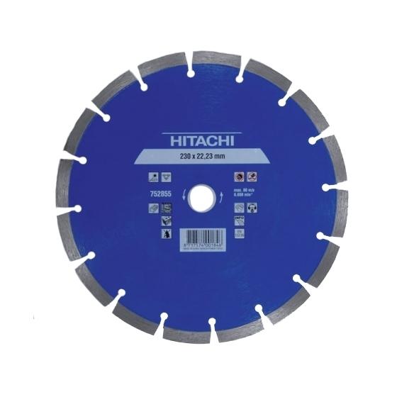 Hitachi Disque Diamant 230x22.2x10 Béton 752855