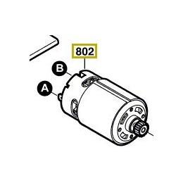 Bosch 2609002620 Moteur à Courant Continu PSR 10.8 LI
