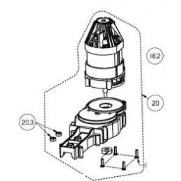 Ryobi 5131035510 Moteur Complet Taille-Haie RPT5555, RHT6560, RHT7565, RHT6060