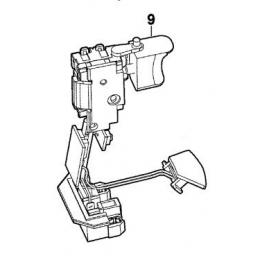 AEG 270013012 Interrupteur Perceuse, Visseuse BS14CLI, BS18CLI