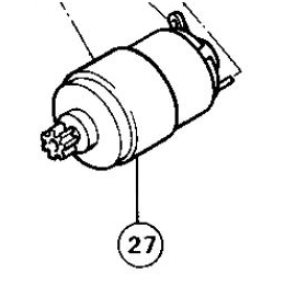 Makita 629197-2 Moteur 9.6V Scie Diamant Sans Fil 4190DW