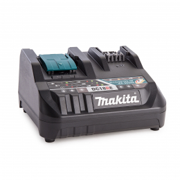 Makita DC18RE Chargeur Double Port 10.8V à 18V Li-ion (LXT/CXT)