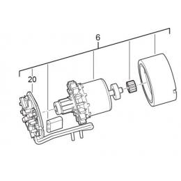 AEG 4931441348 Induit Moteur Complet BSB18CLI