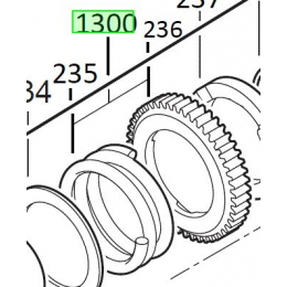 Milwaukee 4931432150 Jeu de Réparation Perforateur PH28X, PH28, PH30