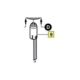 Bosch 2606625904 Galet & Poulie Ponceuse GBS75AE