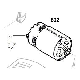 Bosch 2607022838 Moteur 10.8V à Courant Continu GSR10.8V-LI
