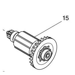 Makita 619410-6 Rotor Pour Perceuse DHP483, DDF483