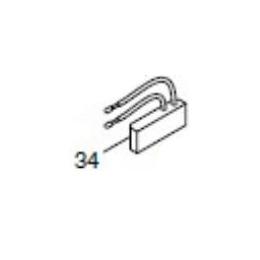 Makita 631613-2 Circuit démarrage Progressif Scie 2704 et LH1040