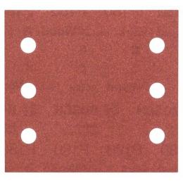 Bosch Pack de 10 Abrasifs Velcro 115x107 6 Trous