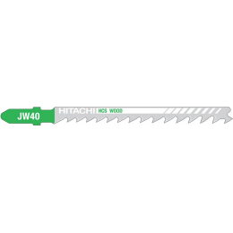 Lames de scies sauteuse bois 75mm JW40