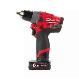 Milwaukee M12FDD-602X Visseuse, Perceuse FUEL 12V 2x6.0Ah (4933459820)