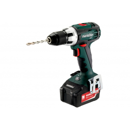 Metabo BS18LT Perceuse, Visseuse 18V 2x4.0Ah (602102500)