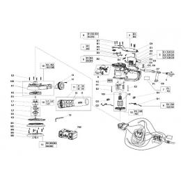 AEG 200462004 Kit de Visserie EX150E, EX150ED, EX150ES
