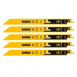 Dewalt DT2416 Pack de 5 Lames Métal Break Away 230mm