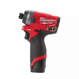 Milwaukee M12 FID-202X Visseuse à choc 12V FUEL 2x2.0Ah (4933459823)