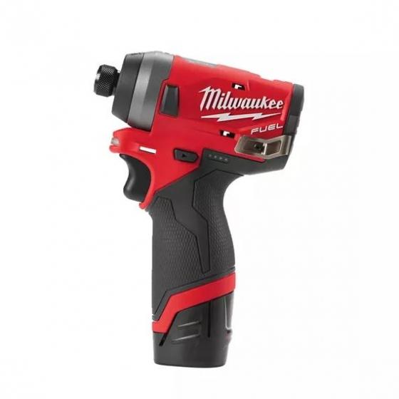 Milwaukee M12 FID-202X Visseuse à choc 12V FUEL 2x2.0Ah (4933459823)